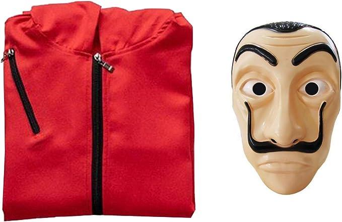 Disfraz de Ladrón La casa de Papel Dali Serie (XXL): Amazon.es ...