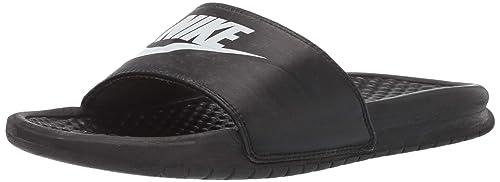 Nike, Herren Clogs & Pantoletten Schwarz schwarz 42.5