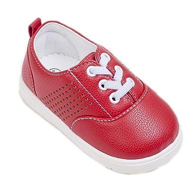 Amazon.com: Wee Squeak - Zapatillas de soltera, color rojo ...