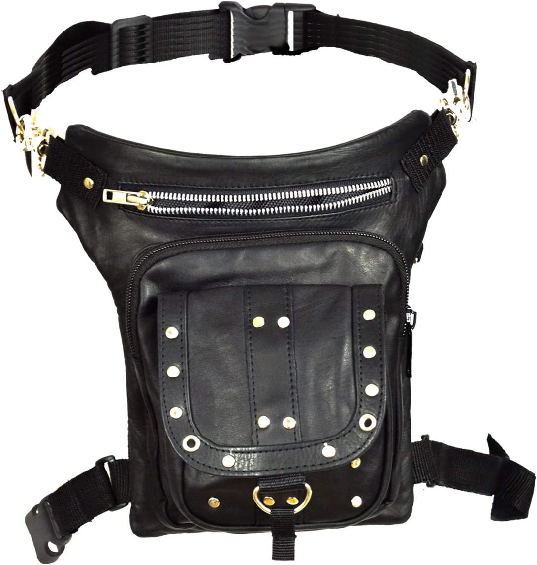real leather purse motorcycle purse riding bag Thigh purse real leather bag riding purse full grain leather thigh bag thigh bag