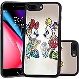 Amazon.com: Cute Mickey Minnie Mouse Cover Mirror Silicone ...