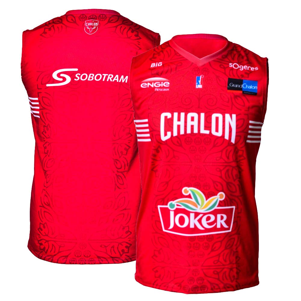 Elan Chalon Chalon - Camiseta de Baloncesto Oficial para niño 2018 ...