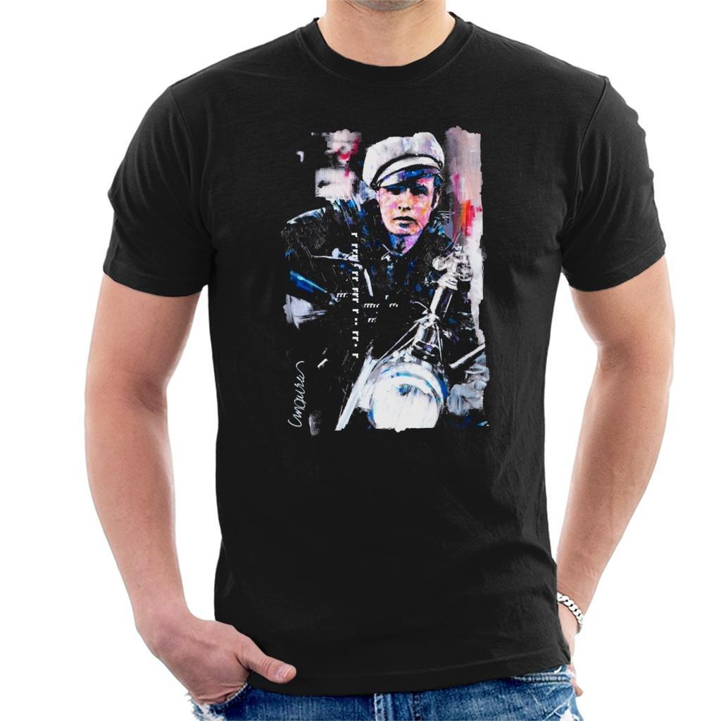 Sidney Maurer Original Portrait Of Marlon Brando The Wild One T Shirt 3364