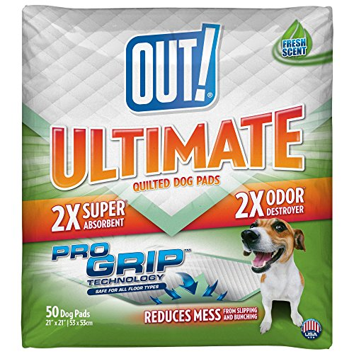 OUT!  Ultimate Quilted Pro Grip Dog Pads, Multiple Sizes and Counts, USA Made