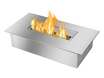 Amazoncom Ignis Ventless Bio Ethanol Fireplace Burner Insert