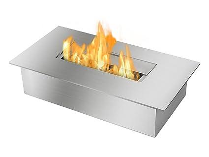 amazon com ignis ventless bio ethanol fireplace burner insert