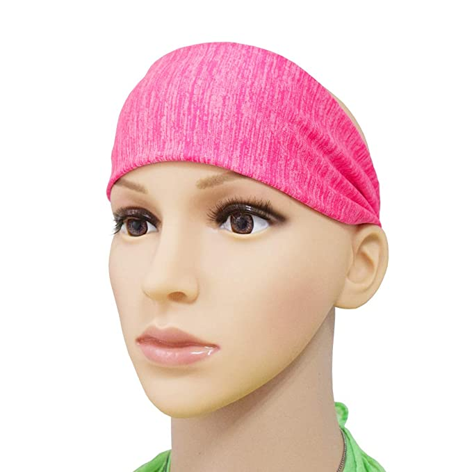 Amazon.com : Lemical Lightweight Stylish Sports Headbands -Non Slip Moisture Wicking Easy Dry &Clean Sweat Band -Ideal for Sports, Yoga for Athletic ...