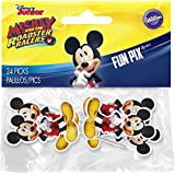 Wilton 2113-7108 24 Count Mickey and The Roadster Racers Fun Pix Assorted