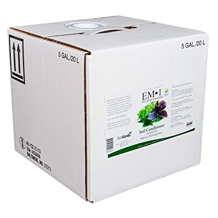 Amazon.com: 5 gallon-em-1 microbianos inoculante: Jardín y ...