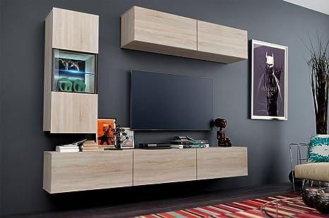 Futura 12 set di mobili salotto moderno, mobili da salotto soggiorno ...