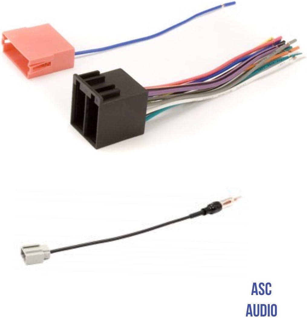 wiring harness hyundai genesis amazon com asc audio car stereo radio wire harness and antenna  asc audio car stereo radio wire harness