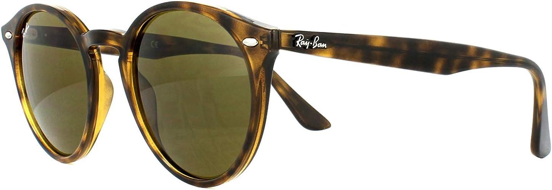 Ray Ban Rb2180 710 73 Highstreet Sunglasses Tortoise Frame Dark Brown Lens 49mm Amazon Co Uk Clothing