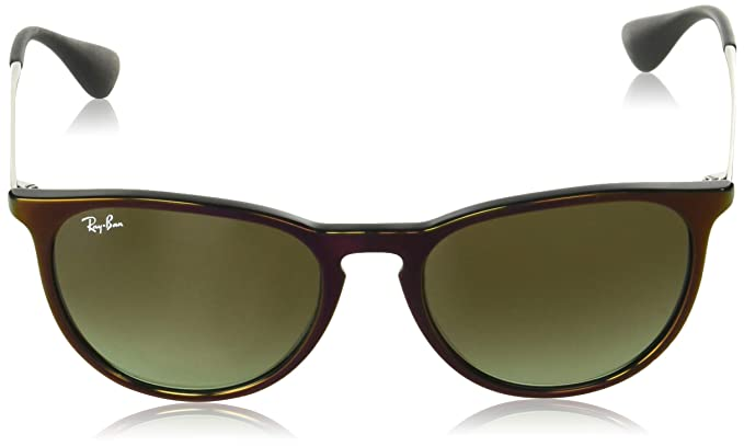 5135bd78c8fa99 Ray-Ban Erika Aviator Sunglasses, Black SP RED, 54 mm  Amazon.ca  Clothing    Accessories