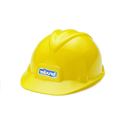 Bruder Toys Construction Worker Hard Hat Yellow Helmet: Toys & Games