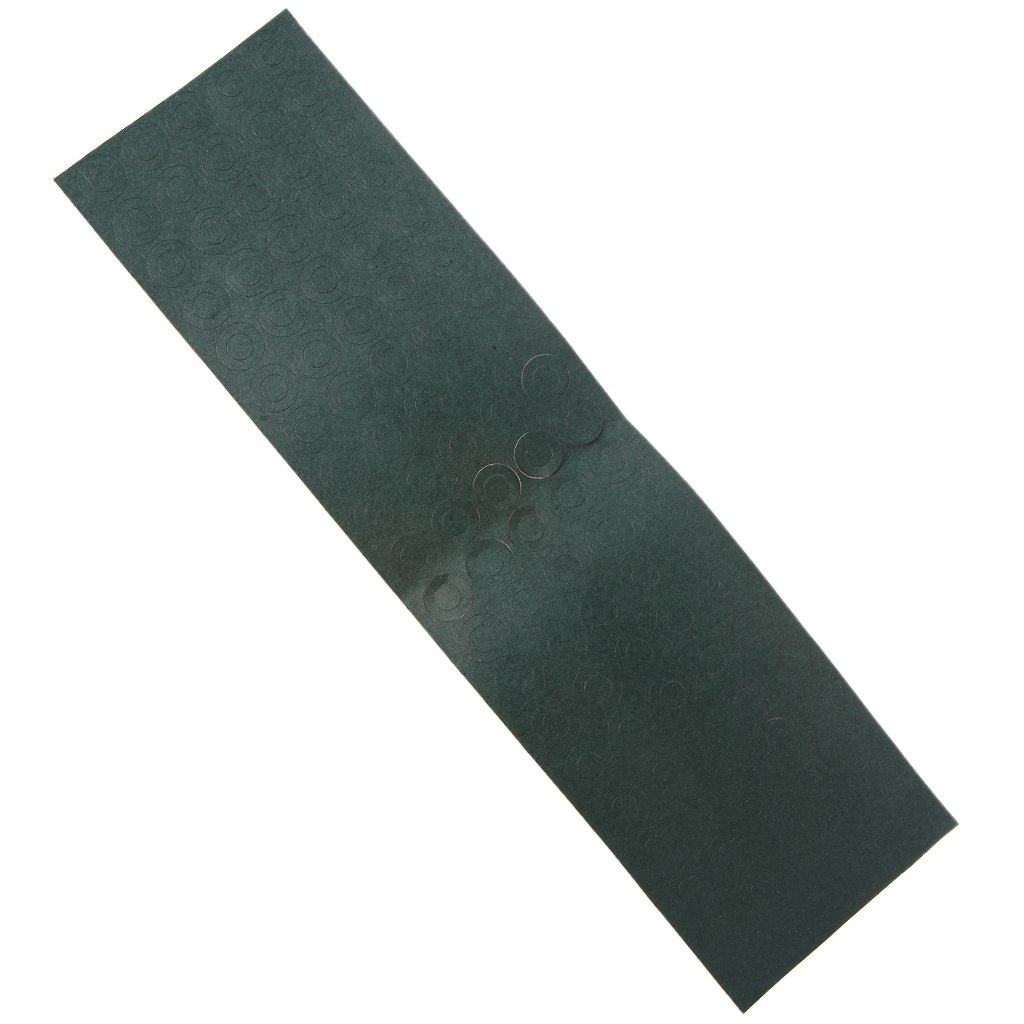Itlovely 100Pcs/Lot 18650 Battery Anode Hollow Insulation Pad Pointed Barley Paper Gasket