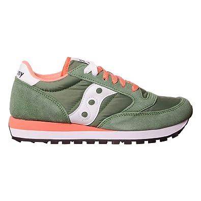 sneakers jazz donna saucony 1044 425 colore verde corallo. Nuova collezione  autunno inverno 2017 2018.  Amazon.co.uk  Shoes   Bags e382f0f8ef8
