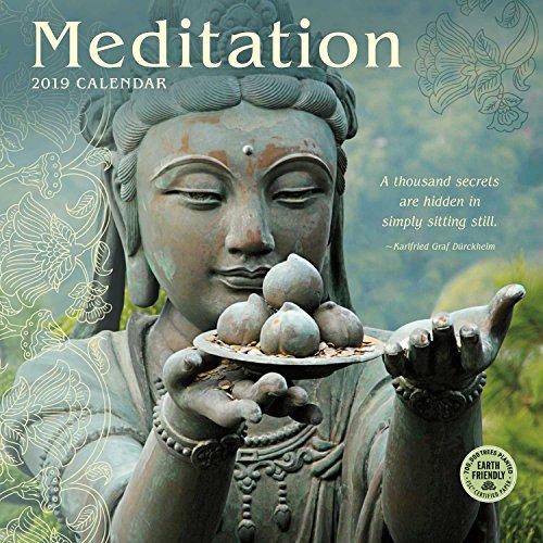 Meditation 2019 Wall Calendar