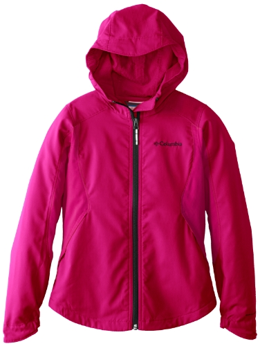 Columbia Big Girls'  Splash Flash II Hooded Softshell Jacket