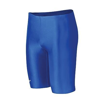 c81bf79edd116 Amazon.com : Speedo Boys' Jammer Swimsuit - PowerFlex Eco Solid ...