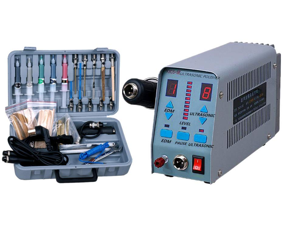 KUNHEWUHUA YJCS-5B Professional Ultrasonic Mold Polisher Polishing Machine Frequency 19-28 KHz (110v) by KUNHEWUHUA