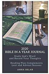 2020 Bible in a Year Journal Paperback