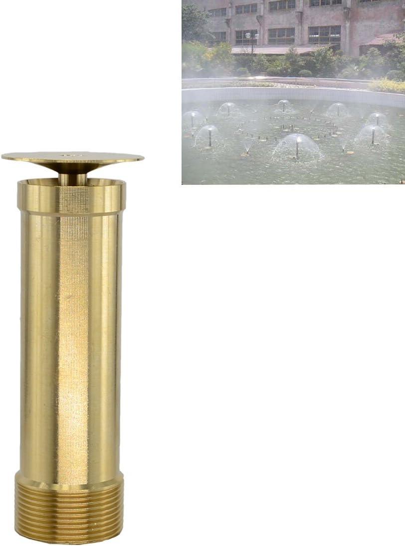 Brass Column Garden Square Fireworks Pool Pond Adjustable Fountain Nozzle Sprinkler Spray Head SSH335 2