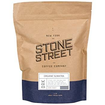 Stone Street Coffee Dark Sumatra Organic Coffee