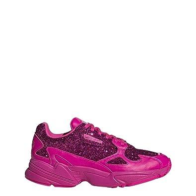 the best attitude e1fb4 687fd adidas Originals Falcon Shoe - Womens Casual Shock PinkCollegiate Purple