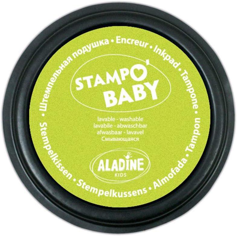 Aladine 03852 rot//Anis gr/ün Stampobaby 2 Stempelkissen