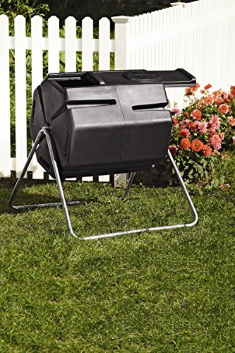 Recycled Plastic Compost Tumbler by Gardener's Supply Company (Image #3)