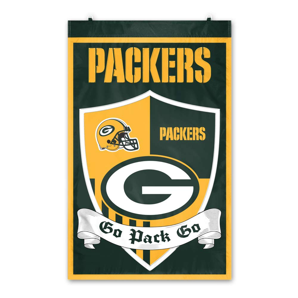 Green Bay Packers Shield Banner by Party Animal