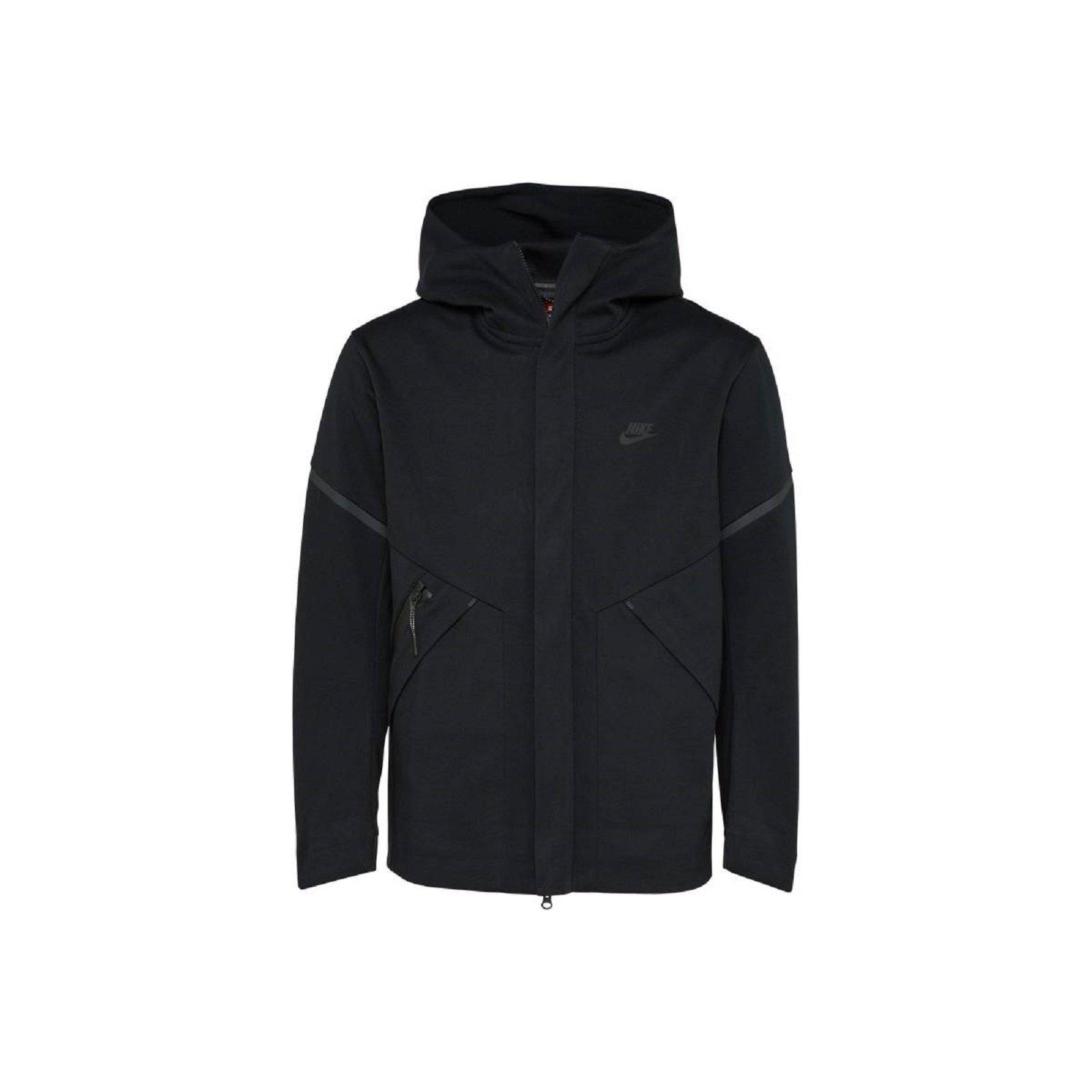 9e777aa7a817 Galleon - NIKE Sportswear Tech Fleece Repel Windrunner Jacket Men Black  Heather 867658-010 (2X-Large)