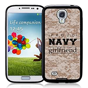 diy phone caseCool Painting Proud Navy Girlfriend 2 Camo - Protective Designer BLACK Case - Fits Samsung Galaxy S4 i9500diy phone case