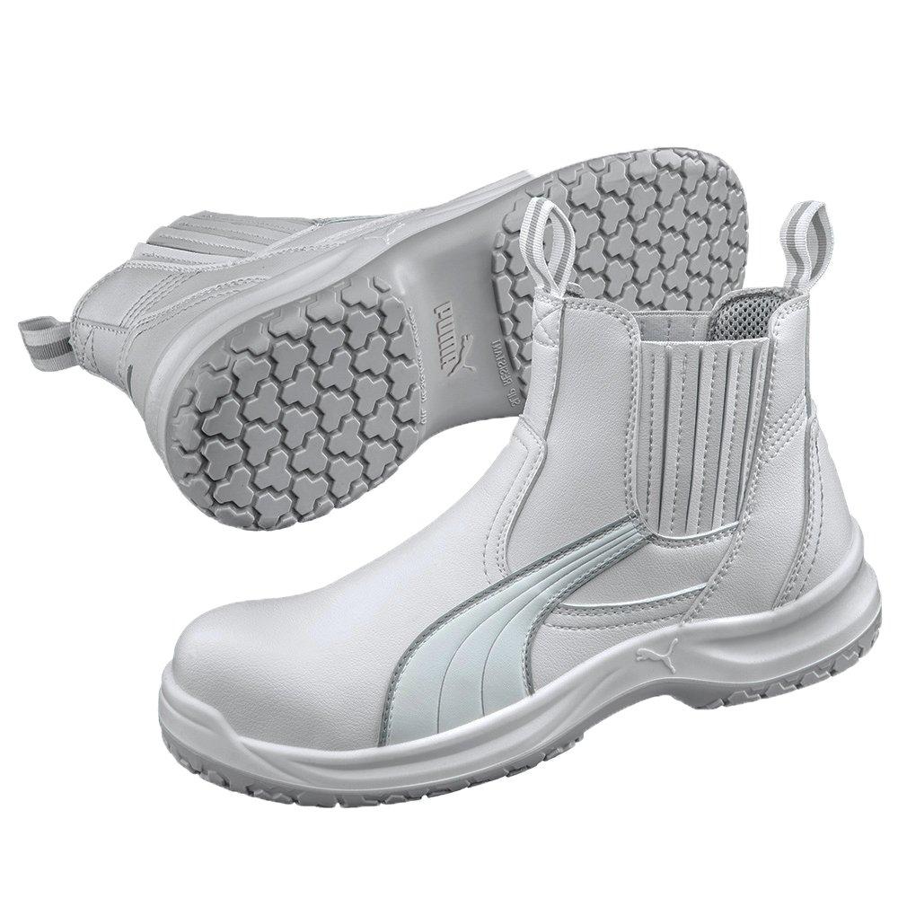 Wei/ß EU 36 wei/ß 100 Puma 630380-100 Damen Sicherheitsschuhe Puma Safety Shoes S2 CLEAR CHELSEA MID