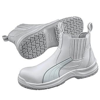 Puma Safety Shoes S2 CLEAR CHELSEA MID Puma 630380 100 Damen Sicherheitsschuhe Weiß (weiß 100) EU 40  40