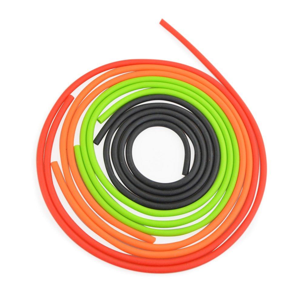 SHARROW Tiro con larco Silicone Peep Sight Tubing Tubo di Ricambio Lunghezza 3 Metri