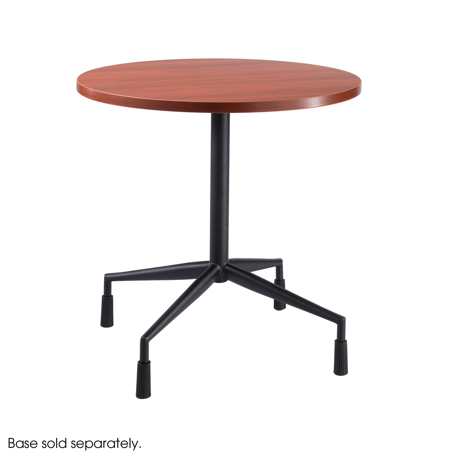 Safco Products 2651CY RSVP  30'' Round Table Top (Base sold separately), Cherry