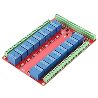 16 Channel Relay Module, Isolated Type 16 Channel Relay