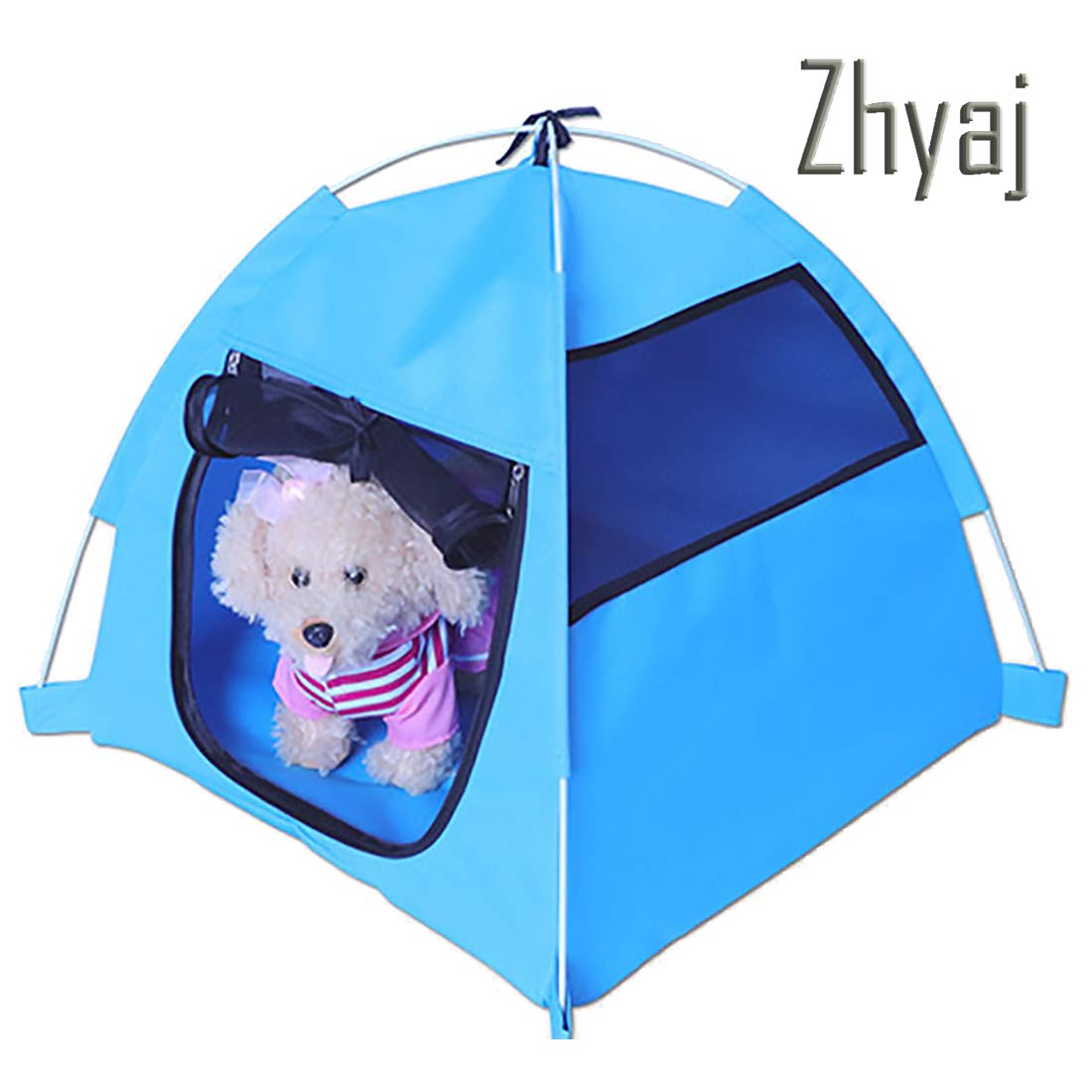 A Dog Kennel Outdoor, Dog Tent Foldable Puppy Cave Pet Tent House Puppy Cave Pet Sleeping Warm Bed Mat Outdoor Travel Nest House Dog Bed,A
