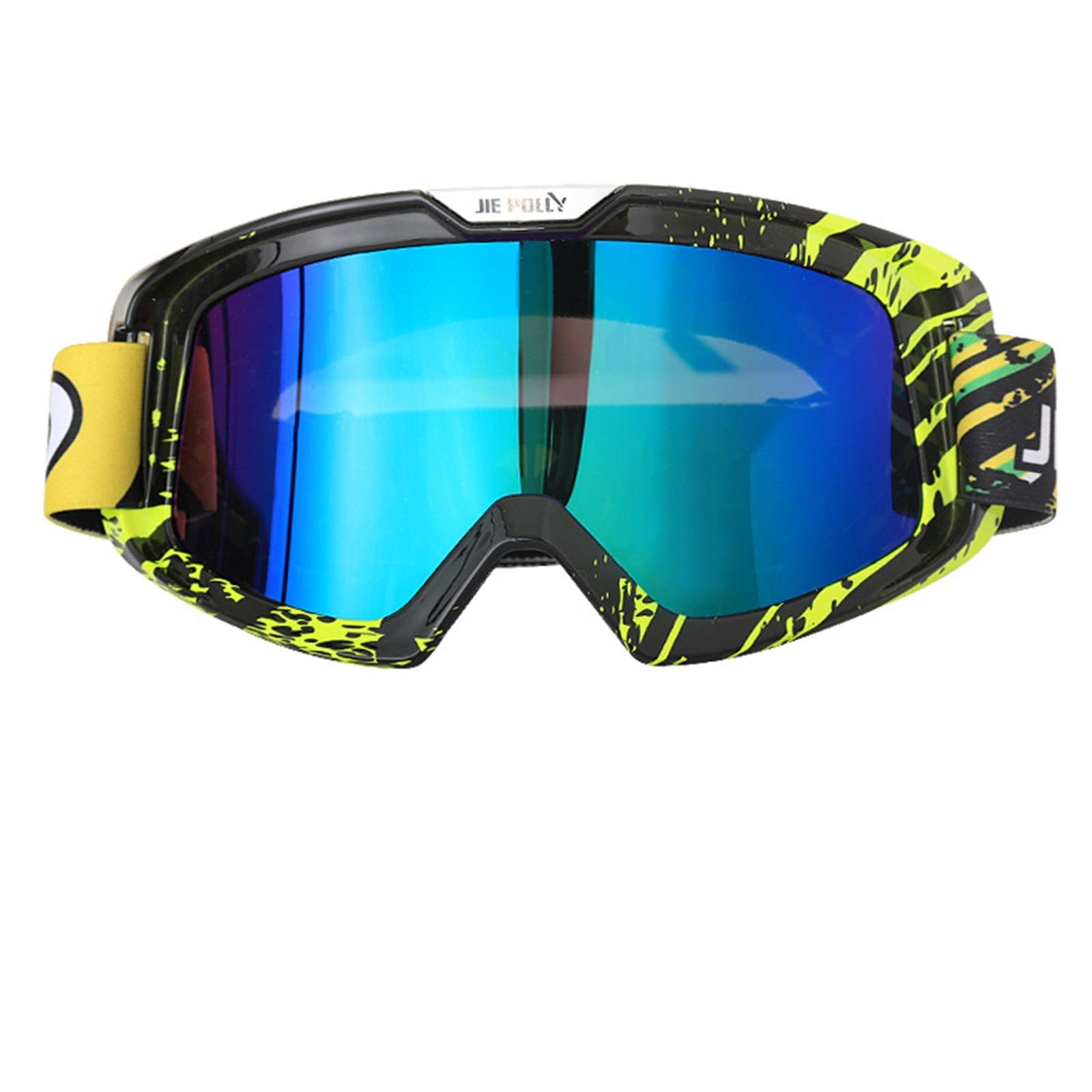 Adisaer Polarized Sunglasses Motorcycle Equipment Off-Road ski Sand-Proof Goggles Colorful A05 for Adults