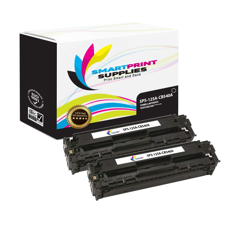 Amazon com: Smart Print Supplies Compatible 125A CB540A Black Toner