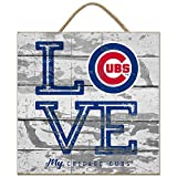Prints Charming Chicago Cubs Love My Team - Square