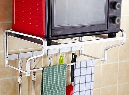 BOBE SHOP- Appendiabiti per forno a microonde Cucina a mensola ...
