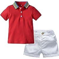 sunnymi ® Polo para bebé de 0 a 4 años, camiseta y ropa corta