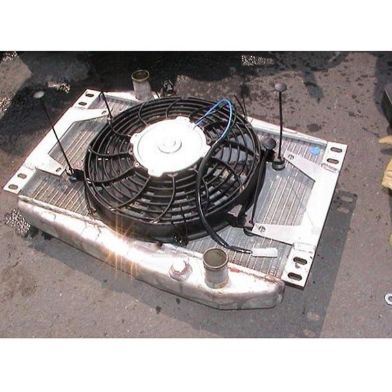 Homyl Accesorios de Montaje de Ventilador Radiador El/éctrico Coche 2 Set