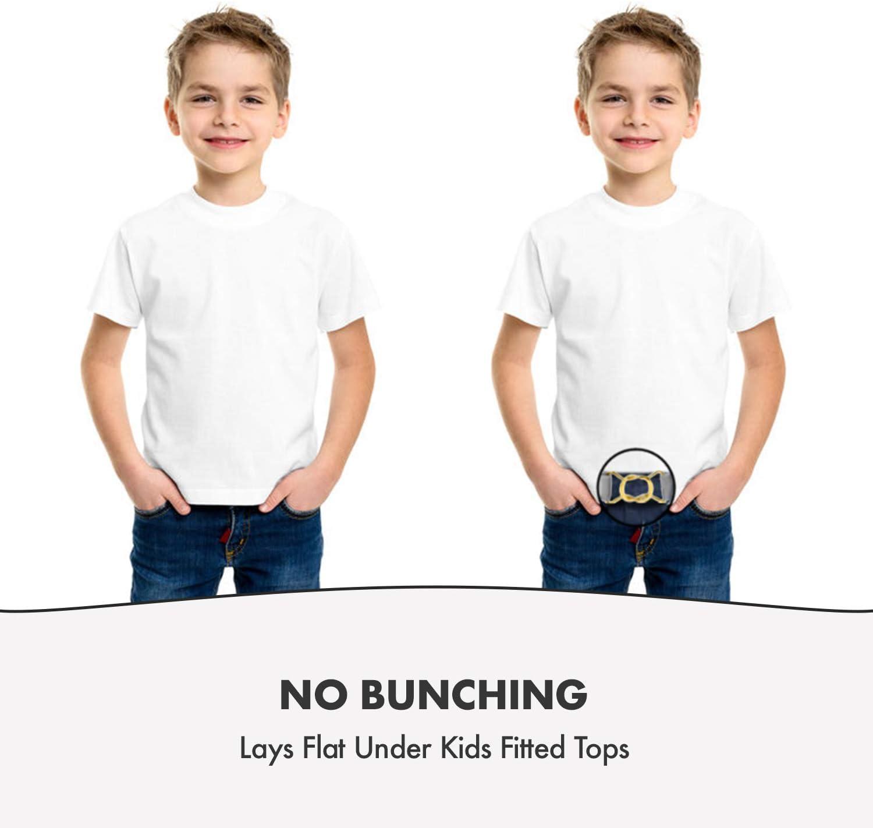 Hold/'Em Kids Toddler Clasp Gold Buckle Belt-Lavender