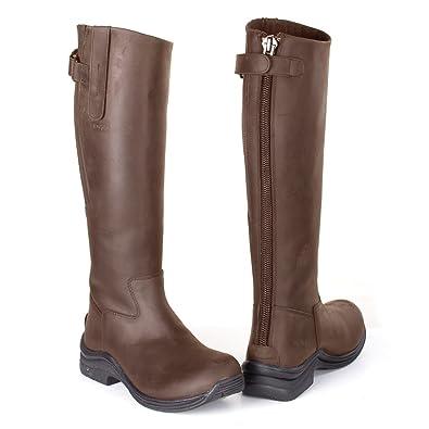 Toggi Chaussures D'Équitation Pour Fille Marron Marron Chocolat (Bitter Chocolate) - Marron - Marron Chocolat (Bitter Chocolate), 37 EU
