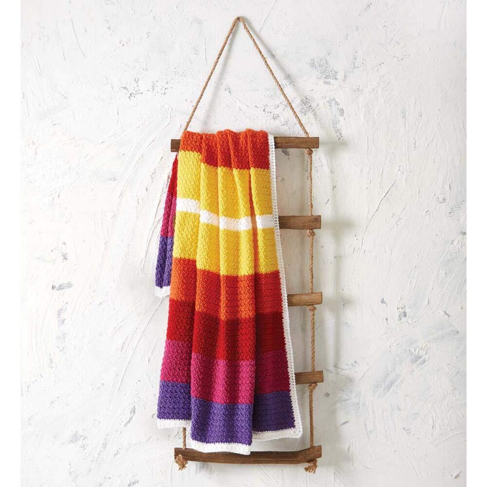 Herrschners® Semester Break Blanket Yarn Kit