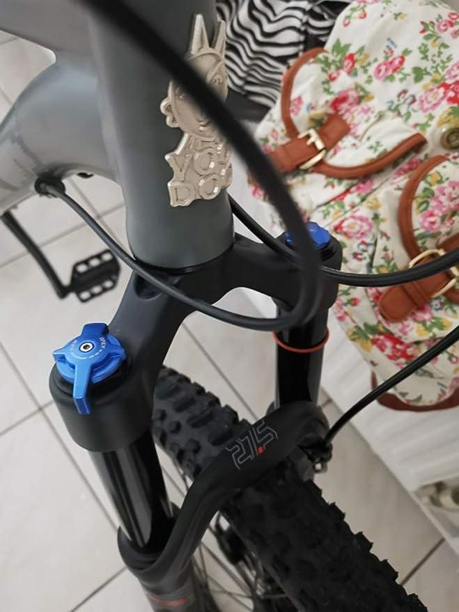 LYGID MTB Bicicleta Horquilla De Suspensión Amortiguador Aire ...
