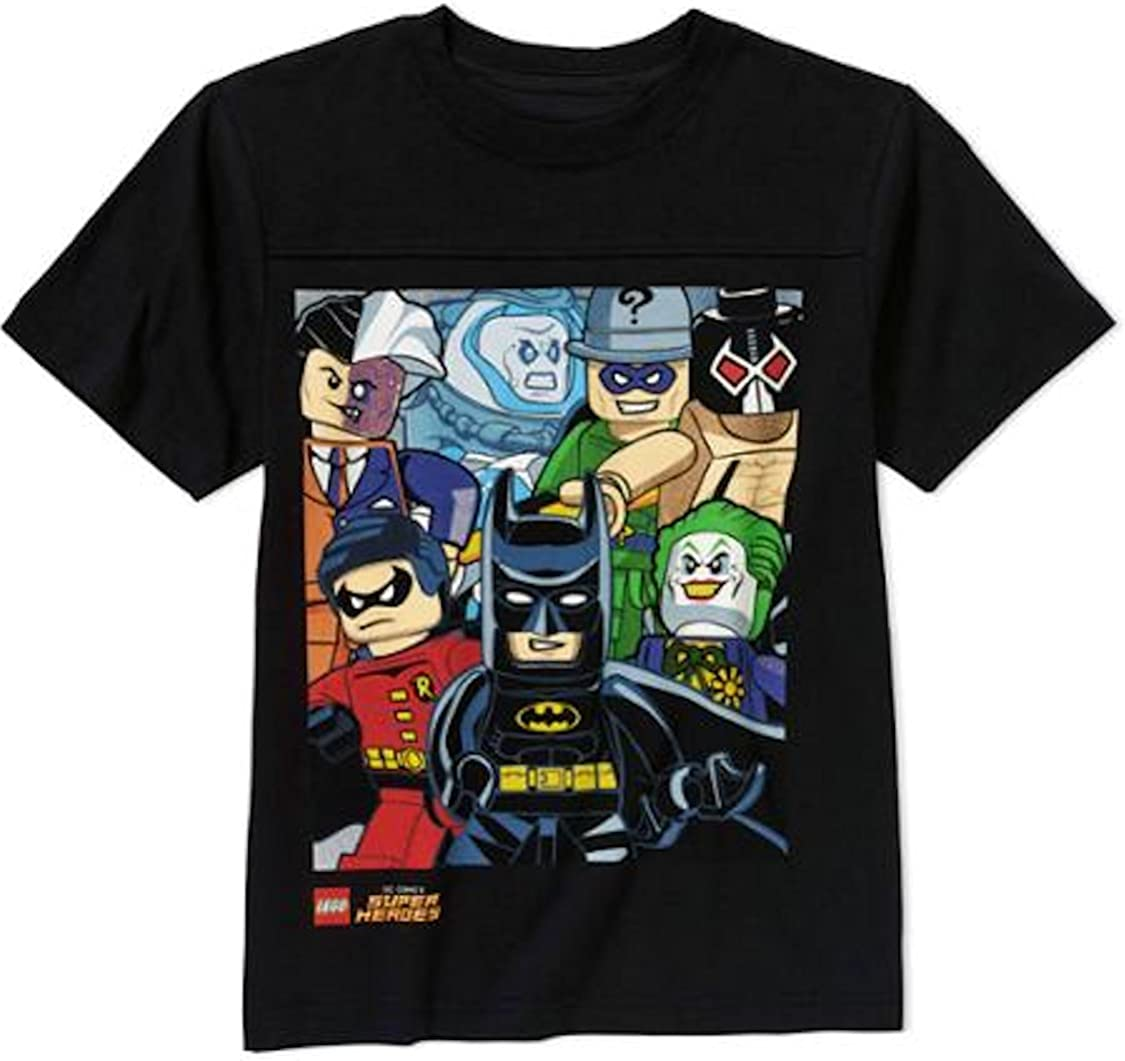 *New* Officially Licensed Lego Batman Boys Group T-shirt